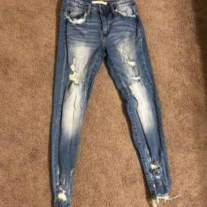 Ripped KanCan Jeans